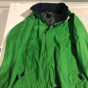The North Face children's jacket 10/12 hidden hood